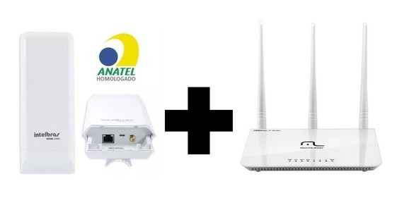 Kit Para Internet Via Rádio Antena + Roteador Promoção