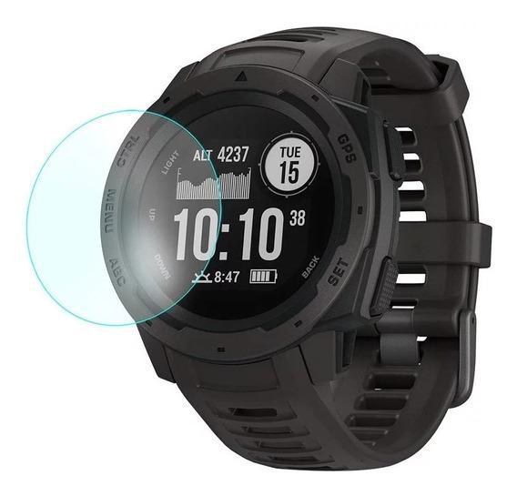 Lámina Vidrio Templado Reloj Garmin Instinct