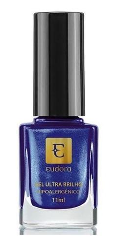Eudora - Esmalte Gel Ultra Brilho - Azul Mistério