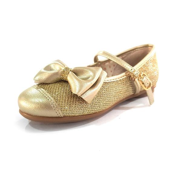 Sapatilha Kidy Soft Dourado (425) - 0932