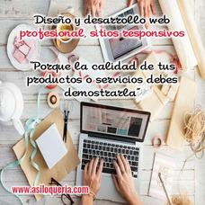 Diseño Web, Desarrollo Web, Paginas Web, Hosting, Dominio,
