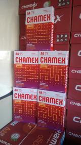 5 Pacotes Papel A4 2500 Folhas Chamex