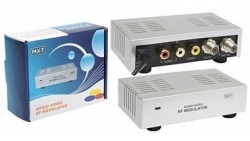 Mini Modulador De Rca P/ Rf - Mxt P/ Camera - Tv Digital