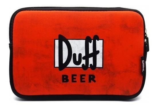 Case Sleeve iPad Tablet 10.1 | The Simpsons | Duff Beer 2