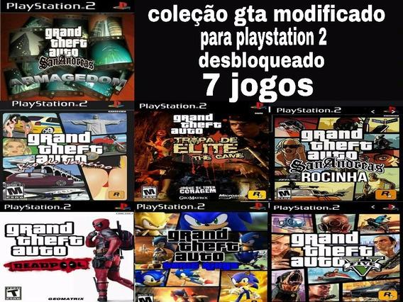 Gta Coleção Para Playstation 2 Desbloqueado