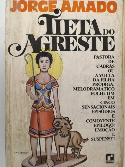 Livro Tieta Do Agreste - Jorge Amado