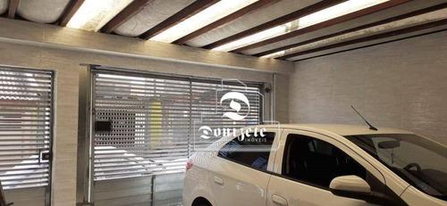 Sobrado Com 3 Dormitórios À Venda, 174 M² Por R$ 480.000,00 - Jardim Santo André - Santo André/sp - So3136