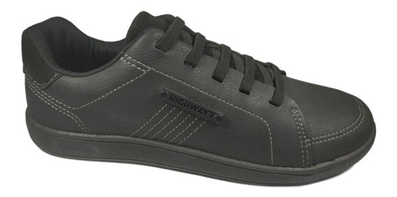 Sapatenis Tênis Casual Masculino West Coast Highway Preto