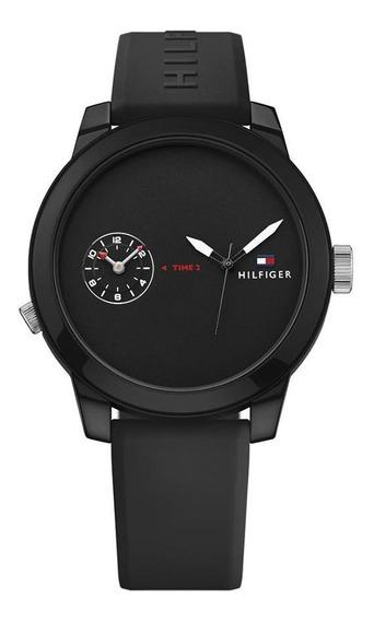 Reloj Tommy Hilfiger Caballero Color Negro 1791326 - S007