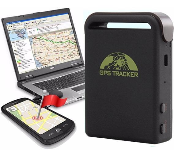 Localizador Rastreador Gps Tracker Mini Satelital Para Auto Moto + Cable Bateria 12v