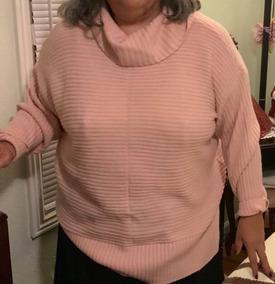 Hermoso Sweater Rosa Talla 3x