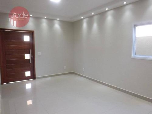 Imagem 1 de 30 de Casa À Venda, 198 M² Por R$ 905.000,00 - Condomínio Buona Vita - Ribeirão Preto/sp - Ca4144