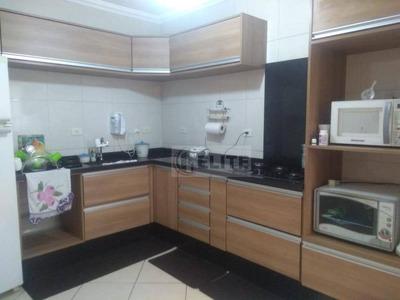 Cobertura Com 3 Dormitórios À Venda, 89 M² Por R$ 450.000 - Vila Alzira - Santo André/sp - Co1210