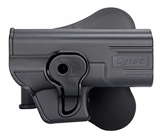 Coldre Destro Externo Paddle Glock G19 G22 G23 Cytac G25