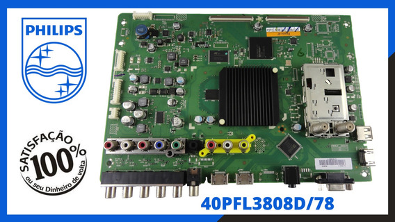 Placa Principal Tv Philips 40pfl3808d/78