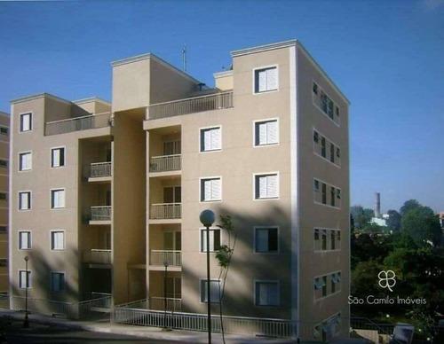 Apartamento Com 2 Dormitórios À Venda, 55 M² Por R$ 250.000 - Granja Viana - Cotia/sp - Ap0253
