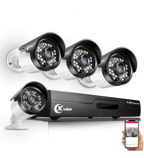 Kit De Vigilancia 4 Camaras Con Vision Nocturna