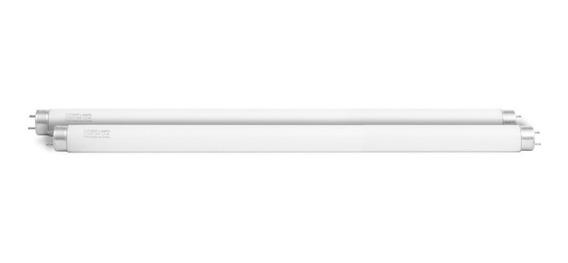 2 Lâmpada 15w Fluoresc Tubular 45cm Actínica Uva Bl T8 Tampa