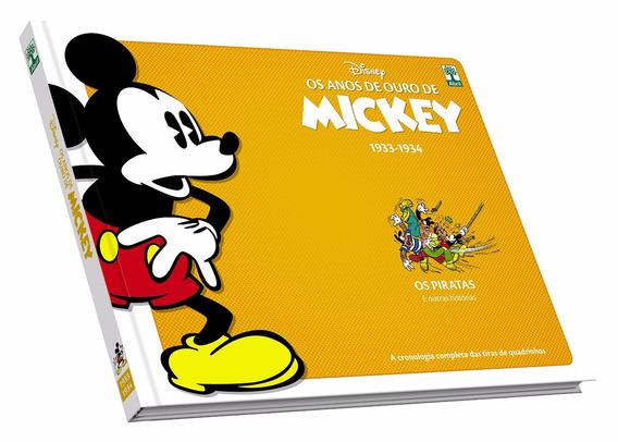 Os Anos De Ouro De Mickey 1933 1934 - Bonellihq Cx374 G18