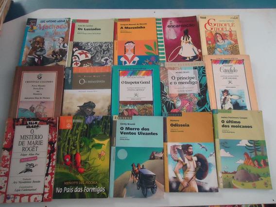 Lote 15 Livros De Literatura