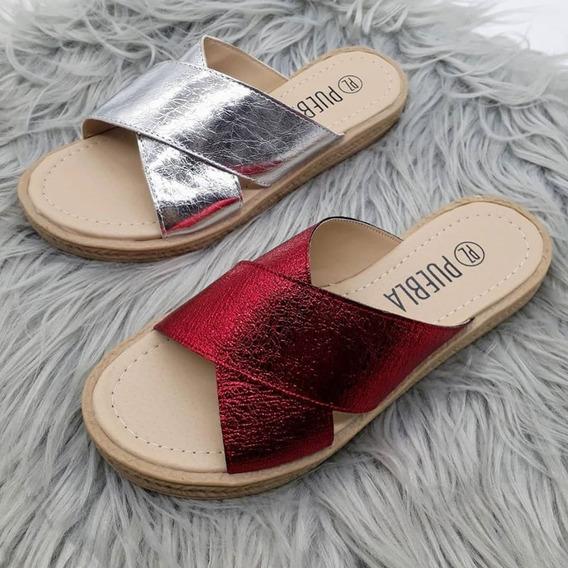 Zapatos Mujer Dama Sandalias Reptil Primavera/verano 19/20