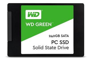 Disco Estado Solido Ssd 240gb Western Digital Green 2.5 @pd