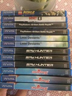 Coleção Particular De Jogos Ps Vita, Psvita