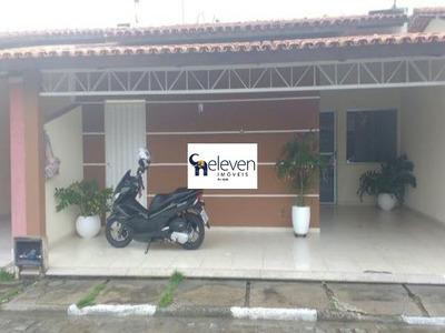Casa Em Condominio No Bairro Conceição, Feira De Santana Com 3 Quartos, Sala, Varanda, Área De Serviço, Cozinha, Banheiros, 2 Vagas, 120 M². - Ca00238 - 32720771