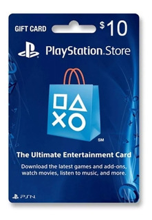 Psn 10 - Playstation Network 10 Usd - Entrega Inmediata
