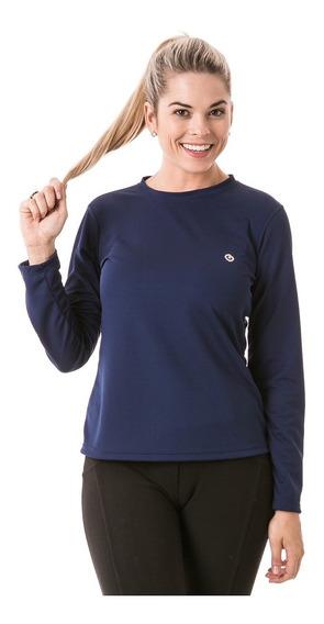 Camiseta Extreme Uv Feminina Manga Longa Proteção Solar Dry