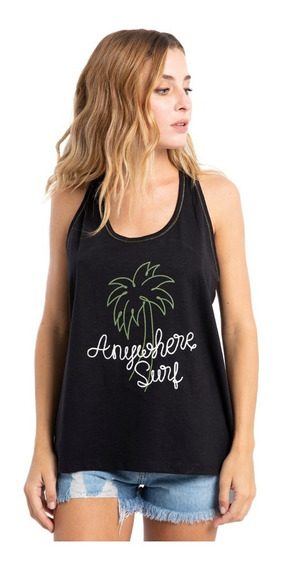 Musculosa Mujer Rusty Anywhere