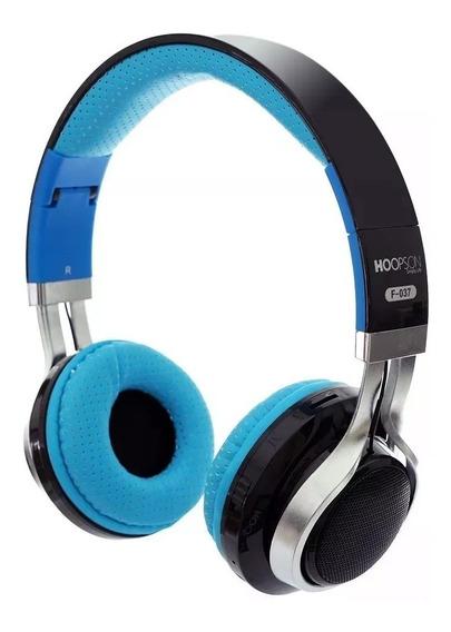 Fone Bluetooth 4.2 F-037 Com Microfone Para Atender Ligação
