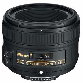 Lente Nikon 50mm Af-s 1.8g