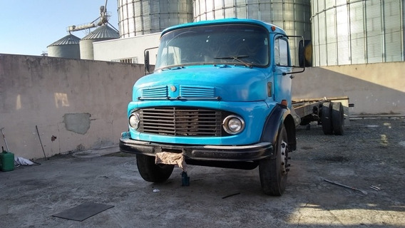 Mb 1113 1970 Truck Chassis Alongado 10 40 Mts So Venda
