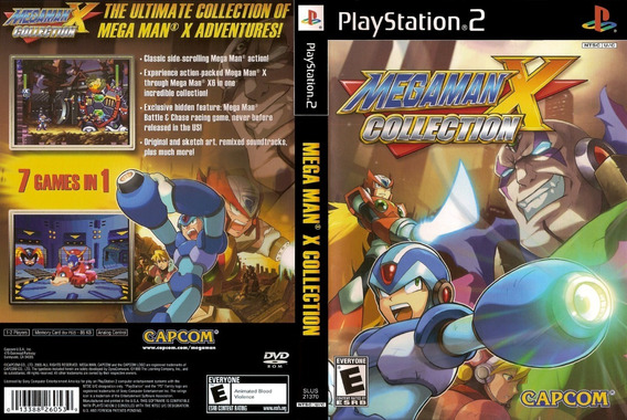 Mega Man X - Collection - Ps2 - Patch