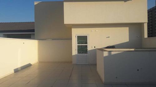 Cobertura Com 2 Dormitórios À Venda, 140 M² Por R$ 480.000,00 - Parque Das Nações - Santo André/sp - Co2266