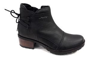 Bota Mujer Freeway Easywear 100% Cuero Moss 3128