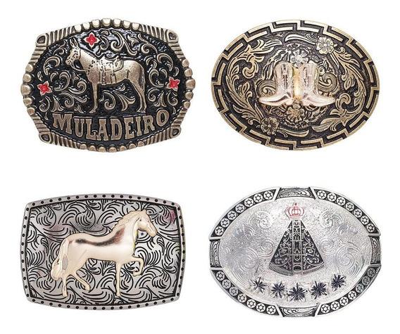 Kit 4 Fivelas Country Cowboy Modelos Variados