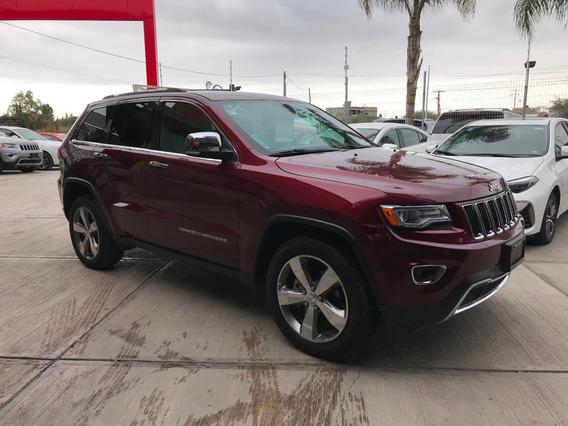Jeep Grand Cherokee Limited Lujo V6 2016