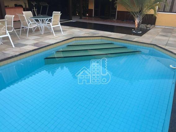 Casa Com 2 Dormitórios À Venda, 250 M² Por R$ 980.000 - Itaipu - Niterói/rj - Ca0922