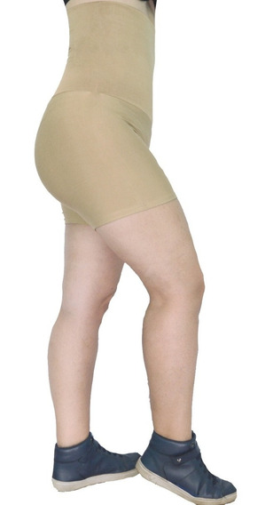 Short Cintura Alta Modeladora Fitness Feminino Academia