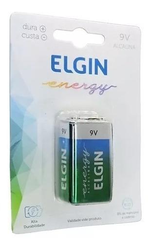2 Bateria 9v Alcalina C/1 Ht01 82158 Elgin