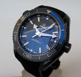 Relógio Omega Planet Ocean Gmt Ceramic Deep Black&blue 600m