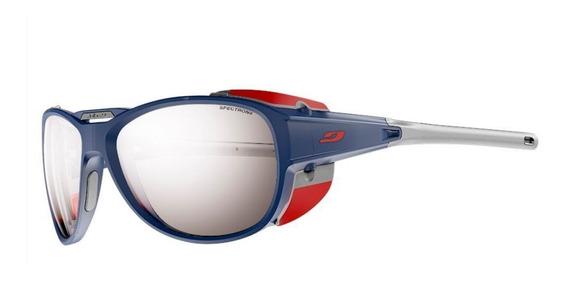 Óculos De Sol Julbo Explorer 2.0 Spectrom 4 Azul E Vermelho