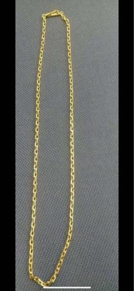 Cordão De Ouro Modelo Cartier