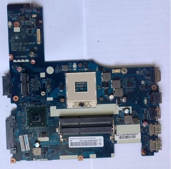 Placa Mãe Lenovo Ideapad G400s La-9902p-defeito
