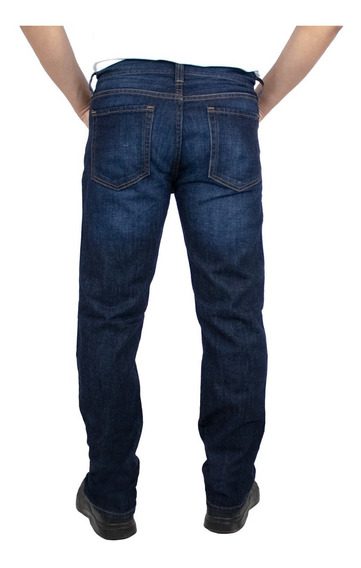 Jeans Breton Para Caballero Straight Fit. Estilo Bjm026