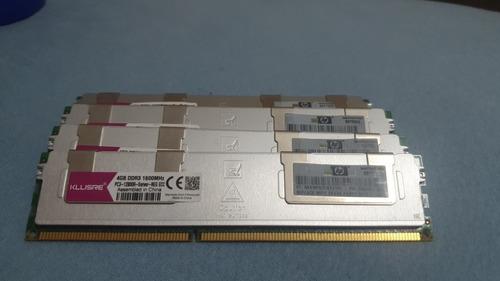 Kit Ram Ddr3 16gb ( 4 X 4gb ) Ecc Hp
