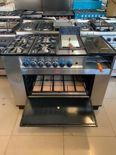 Cocina Multiple Tecno Calor 115cm Freidora Plancha Carlitero