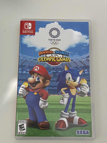 Mario & Sonic Nos Jogos Olímpicos Tóquio 2020 (mídia Física)